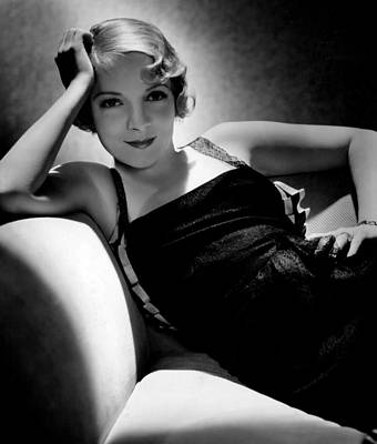 Evening Gown Photograph - Helen Hayes, Ca. 1934 by Everett