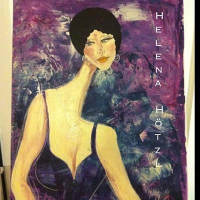 Jewelry Wall Art - Photograph - #helenahotzl #art #artist #paint by Helena Hotzl