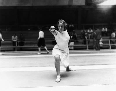 Helene Photograph - Helene Mayer (1910-1953) by Granger