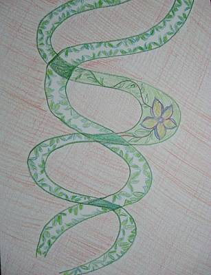 Art Print featuring the painting Helix  by Sonali Gangane