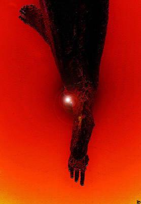 Hell Fall Print by David Lee Thompson