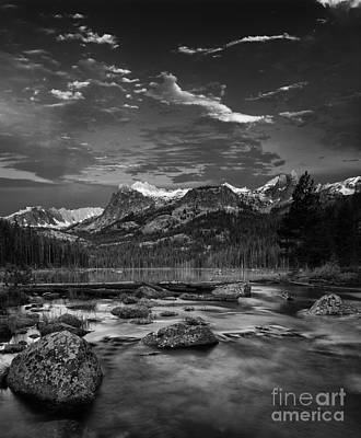 Hell Roaring Lake Art Print