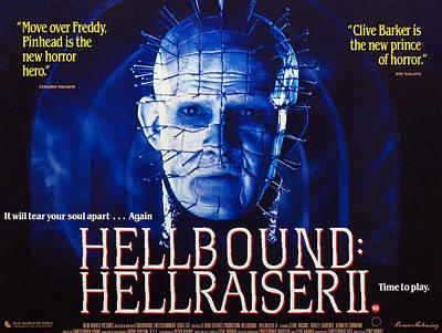 Hellbound Hellraiser II, Doug Bradley Art Print by Everett