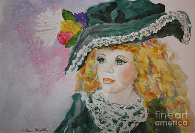 Hello Dolly Art Print by Terri Maddin-Miller