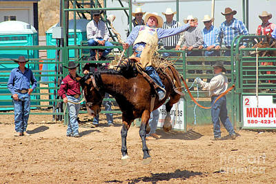Of Rodeo Events Photograph - Hello World by Cheryl Poland