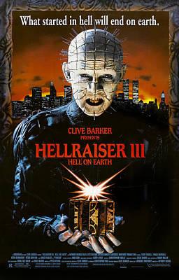 Hellraiser IIi Hell On Earth, Doug Art Print by Everett