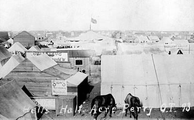 Hells Half Acre, Perry, Oklahoma Art Print by Everett