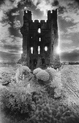Dungeon Photograph - Helmsley Castle by Simon Marsden