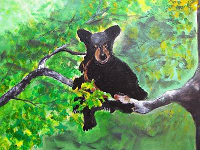 Painting - Bearly Wanted by Gary Smith