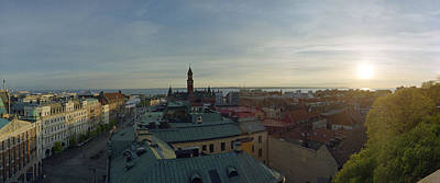 Photograph - Helsingborg At Sunset by Jan W Faul