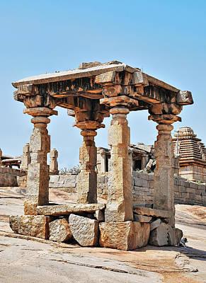 Jainism Wall Art - Photograph - Hemakuta Temples, Hampi, Karnataka by Mukul Banerjee Photography