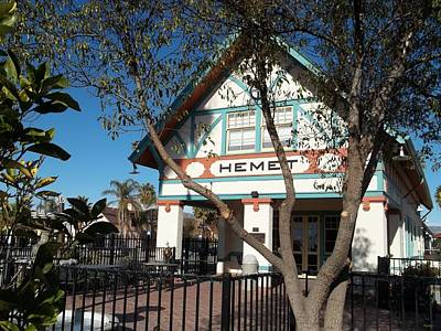 Hemet Museum-old Santa Fe Depot Art Print