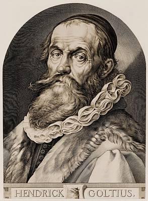 Hendrik Goltzius 1558-1617 Art Print by Everett