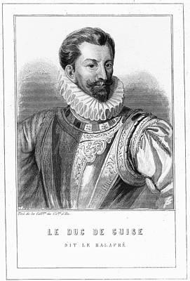 Guise Photograph - Henri I, Duc De Guise by Granger