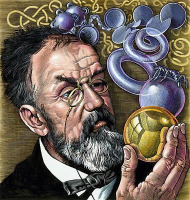 Henri Poincare, French Mathematician Art Print by Bill Sanderson