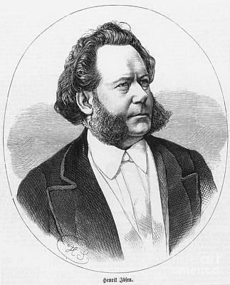 Henrik Ibsen (1828-1906) Art Print by Granger