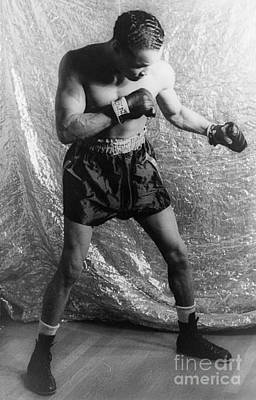Henry Armstrong (1912-1988) Art Print by Granger