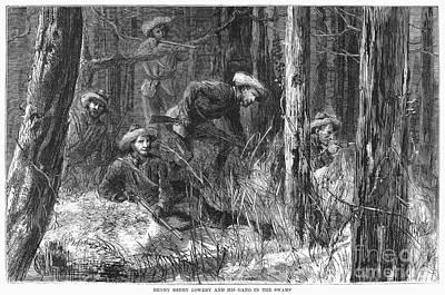 Henry Berry Lowery Print by Granger