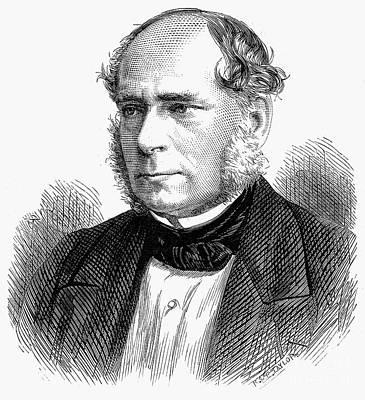 Henry Bessemer (1813-1898) Art Print by Granger