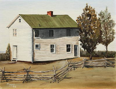 Painting - Henry House by Alan Mager