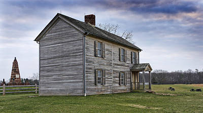 Henry House At Manassas Battlefield - Virginia Art Print by Brendan Reals