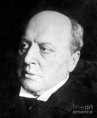 Henry James, American-born British Art Print by Photo Researchers