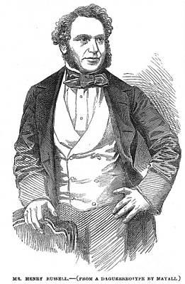 Henry Rusell (1812-1900) Art Print by Granger