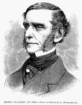 Henry Stanbery (1803-1881) Art Print by Granger