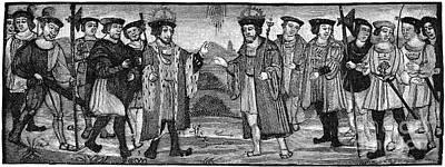 Henry Viii & Francis I Art Print by Granger