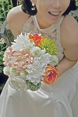 Photograph - Her Bouquet by Valerie Rosen