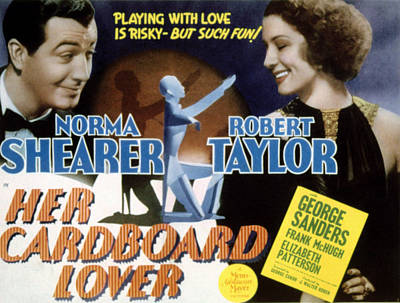 Posth Photograph - Her Cardboard Lover, Robert Taylor by Everett