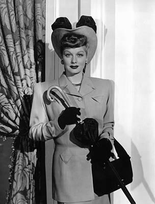 1947 Movies Photograph - Her Husbands Affairs, Lucille Ball, 1947 by Everett