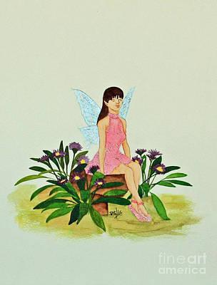 Painting - Her Secret Garden by Terri Mills