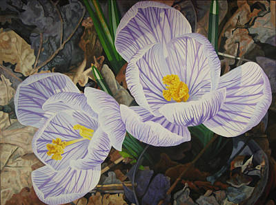 Painting - Heralds Of Spring by - Harlan