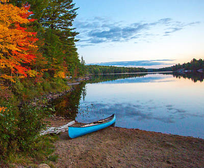 Herb Lake Print by Paul Bruch Photography