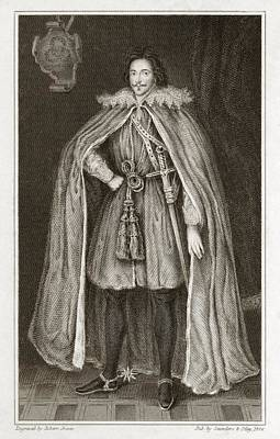 Herbert Of Cherbury, English Philosopher Art Print by Middle Temple Library
