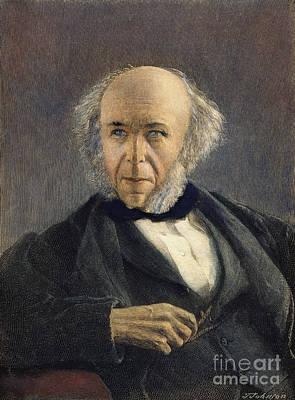 Herbert Spencer (1820-1903) Art Print
