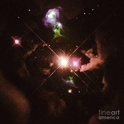 Herbig-haro 32 Art Print by Space Telescope Science Institute / NASA