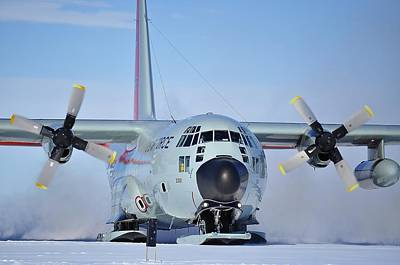 Hercules Lc130h 04 Art Print by David Barringhaus