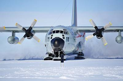 Hercules Lc130h 05 Art Print by David Barringhaus