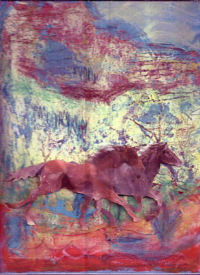 Here We Go Again  Art Print by Anne-Elizabeth Whiteway