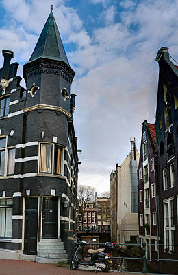 Photograph - Herengracht 395. Amsterdam by Juan Carlos Ferro Duque