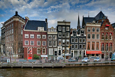 Photograph - Herengracht 411. Amsterdam by Juan Carlos Ferro Duque