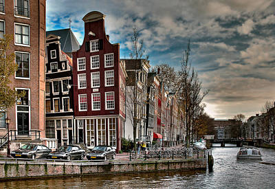 Photograph - Herengracht-beulingstraat. Amsterdam by Juan Carlos Ferro Duque