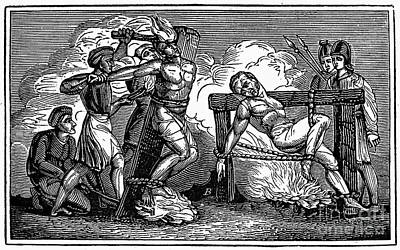 Heresy: Torture, C1550 Art Print by Granger