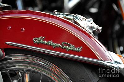 Photograph - Heritage Softail by John Black