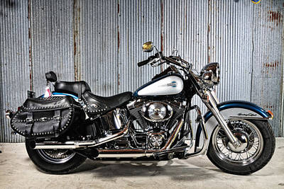 Photograph - Heritage Softail by John Kiss