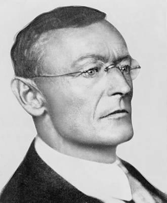 Hermann Hesse Photograph - Hermann Hesse 1877-1962 German by Everett