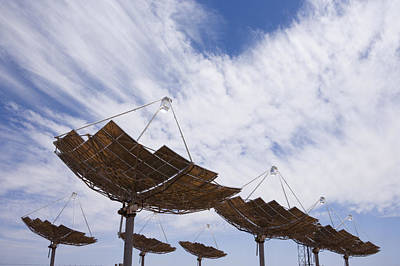 Etc. Photograph - Hermansburg Solar Energy Receiver Array by Stephen Alvarez