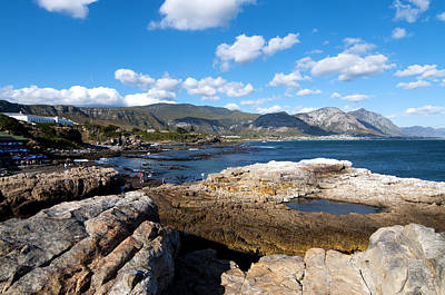 Hermanus Coastline Art Print by Fabrizio Troiani